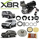 X8R REPAIR KIT FOR HITACHI AIR COMPRESSOR AND FILTER DRYER COMPATIBLE WITH LAND ROVER LR4 / DISCOVERY 4, PART # X8R44 / X8R0044