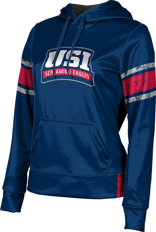 University of Southern Indiana Girls' Pullover Hoodie, School Spirit Sweatshirt (End Zone)
