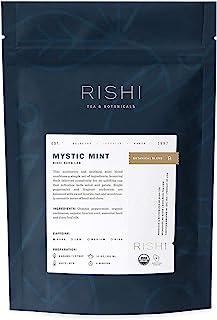 Rishi Tea Mystic Mint Loose Leaf Herbal Tea | Immune Support, USDA Certified Organic, Fair Trade Botanical Blend, Antioxid...