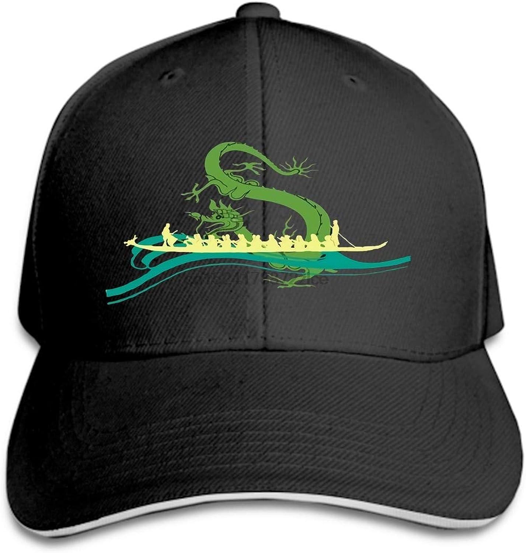 WLEZY Baseball Cap Unisex Casual Adjustable Baseball Cap Hip Hop Baseball Cap Men's Dragon Boat Yellow Lady Hat Cap