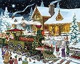 Santa's Express Christmas Jigsaw Puzzle 1000 Piece