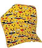 Infantil Unicornio amarillo Emoji WWE estrellas Disney PJ máscaras manta de forro polar para niños