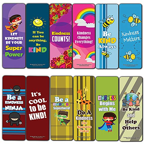 Super Bookmarks Kindness (30-Pack)