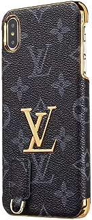 iPhone 7 8 Plus Cover Case, Luxury Street Fashion Designer PU Leather Anti-Scratch Skin Cover Case for iPhone 7 Plus, iPhone 8 Plus (Blue)