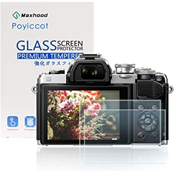 Tempered Glass Screen Protector for Olympus E-M5 Mark II Camera 0.33mm 9H