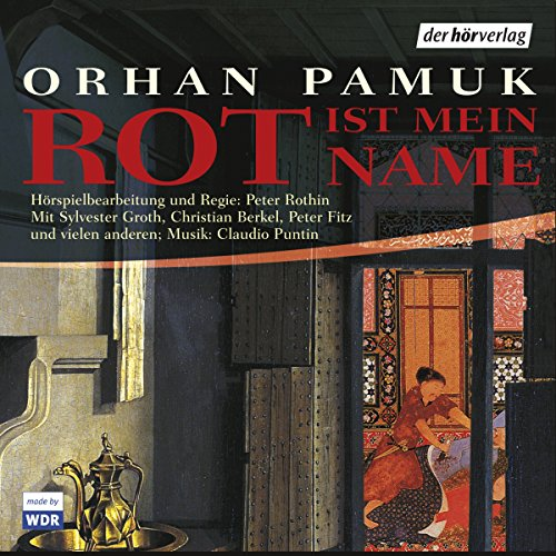 Rot ist mein Name audiobook cover art