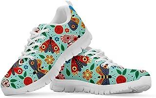 Woisttop, scarpe da ginnastica con lacci, design speciale, comode, traspiranti, per corsa, jogging, jogging, scarpe da don...