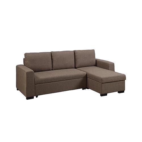 Small Sectional Sleeper Sofa: Amazon.com
