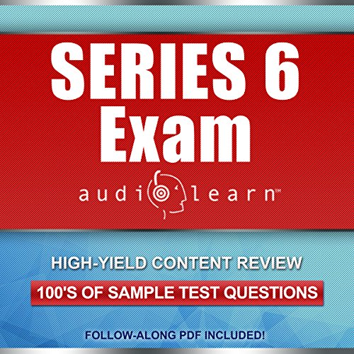 Series 6 Exam AudioLearn audiobook cover art