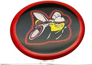 Foxxi D-FSBO-BRY Custom Scatpack Bee SRT Challenger Fuel Filler Door Decal Emblem Badges Nameplate For 2008-2018 DODGE CHALLENGER Gift (Black)
