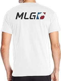 ITTANE Fantastic Major League Gaming MLG Short T Shirt Mens Back Graphic