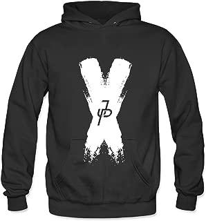 jake paul x hoodie white