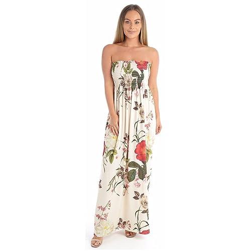 f9ce931061b Strapless Maxi Dresses: Amazon.co.uk