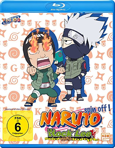Rock Lee & seine Ninja Kumpels - Vol.3 (Episoden 27-39) [Blu-ray]