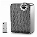 ZBJJ Electric Heaters Ceramic Heater for Desk Office, 1800/900W Rotating Space Heater