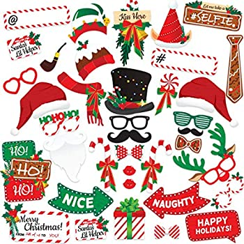 Best photo booth props christmas Reviews