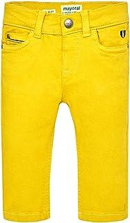 Mayoral 2552 - Pantalón para niño, color amarillo