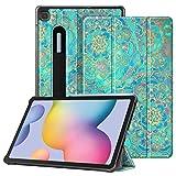 FINTIE SlimShell Funda para Samsung Galaxy Tab S6 Lite de 10.4' - Carcasa Fina con Bolsillo para S...