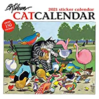 Catcalendar 2021 Sticker Calendar