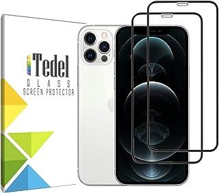 iTedel [2 PACK] Screen Protector for iPhone 12 iPhone 12 Pro 6.1 inches 2020, (Anti-Fingerprint & Anti-Scratch) 9H 2.5D Te...