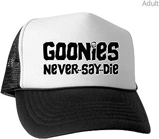 Goonies Never - Trucker Hat, Classic Baseball Hat, Unique Trucker Cap