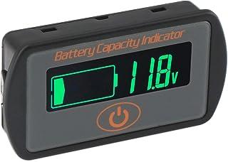 Aili Battery Monitor Capacity Indicator 2in1 Voltage Capacity SOC Combo Meter Lead Acid 12V 24V 36V 48V Lithium Li-ion 2S~...