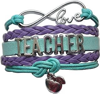 Infinity Collection Teacher Bracelet-Teacher Jewelry- Teacher Gift, Show Your Teacher Appreciation