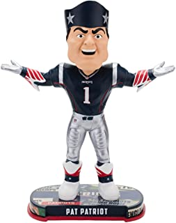 Forever Collectibles New England Patriots Mascot New England Patriots Headline Bobblehead NFL