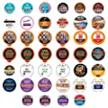 Dark Roast Coffee Pod Variety Pack - Dark, Strong, and Bold Coffee in a Bulk Sampler Pack for Keurig K Cups Coffee Makers