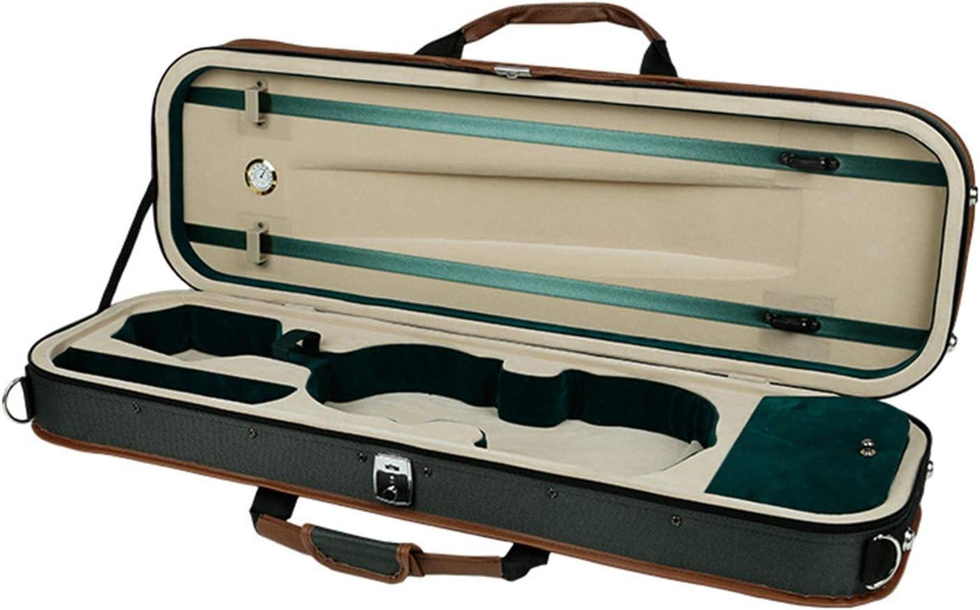 YonCog Violin Bags Cases Hard High Foam Case Charlotte Mall Large-scale sale Hygrometer