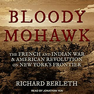 Bloody Mohawk audiobook cover art