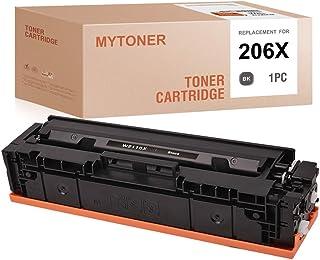 MYTONER (NO CHIP) Compatible Toner Cartridge Replacement for HP 206X 206 W2110X for Color Laserjet Pro M255dw Laserjet MFP...