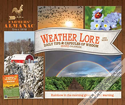 Uml Fall 2020 Calendar Farmers Almanac 2020 6.125 x 5.125 Inch Weather, Lore & More Box