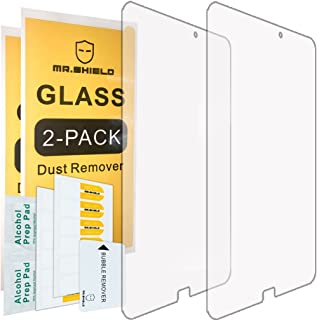 [2-Pack]-Mr.Shield for Samsung Galaxy Tab E 9.6 Inch [Tempered Glass] Screen Protector [0.3mm Ultra Thin 9H Hardness 2.5D Round Edge] with Lifetime Replacement