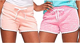 Justice Girls Logo Knit Dolphin Shorts