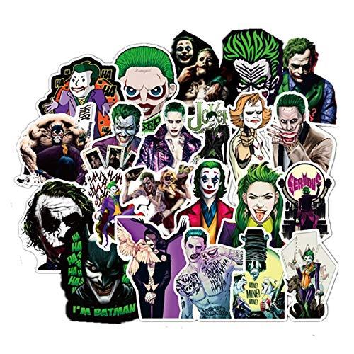 Joker Anime Aufkleber Cartoon Clown Stil Für Fall Laptop Motorrad Skateboard Gepäck Aufkleber Kinder Spielzeug Aufkleber 100 Stücke