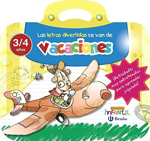 Las letras divertidas se van de vacaciones 3 años (Castellano - Material Complementario - Vacaciones Educación Infantil) - 9788469613528