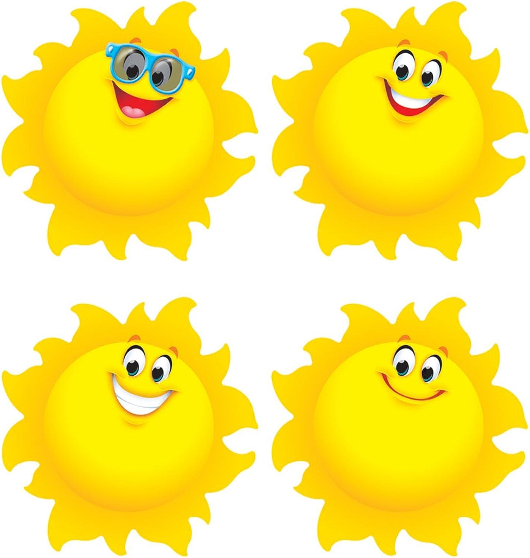TREND ENTERPRISES INC. T10872 Suns Mini Accents Variety Pack, 36 Ct