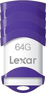 Lexar JumpDrive V30 64GB USB 2.0 Flash Drive - LJDV30-64GABNL (Purple)
