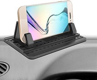 [Versión Tercera Mejorada] Ipow Soporte Coche Movil Universal Almohadilla de Silicona Antideslizante para Salpicadero con Gel Pegajoso para iPhone Xs/XS/X/8, Galaxy Note9/8/S8/S8, Huawei, Tablet PC