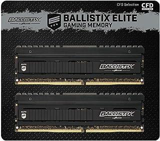 CFD販売 デスクトップPC用ゲーミングメモリ Ballistix Elite PC4-28800(DDR4-3600) 8GB×2枚 288pin 無期限保証 国内正規代理店品 W4U3600BME-8G