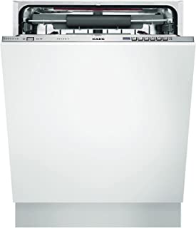 AEG F65712VI0P Fully built-in 15places A+++ White - Lavavajillas (Totalmente integrado, Color blanco, Botones, 15 places, 44 Db, A)