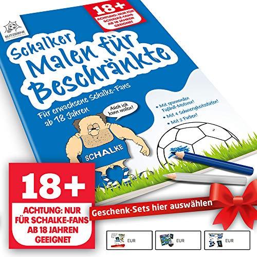Schalke Fanartikel ist jetzt Schalker Malbuch für Beschränkte by Ligakakao.de