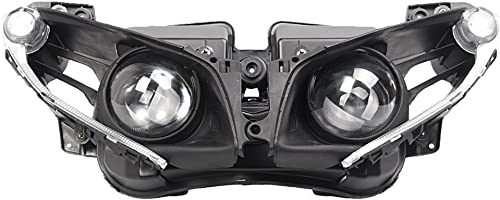 high quality Mallofusa Motorcycle online Front 2021 Headlight Headlamp Assembly Compatible for Yamaha YZF R1 2013 2014 Clear Lens online