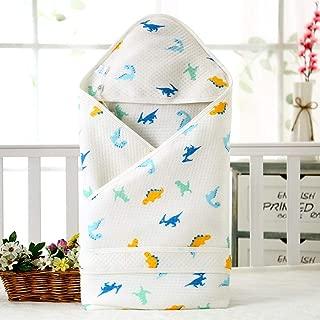 Neutral Swaddle Blanket Baby Sleeping Bag Newborn Quilt Cotton Warm Cartoon 襁褓 6-18 Months@Dinosaur Child Comfort Quilt