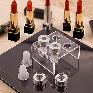 TINTON LIFE Simple Design DIY Makeup Cosmetics Lipstick Mould Silicone Mold Making Tool Set (Bird Beak Shape+Nail Shape+Heart Shape+Eagle Beak Shape)