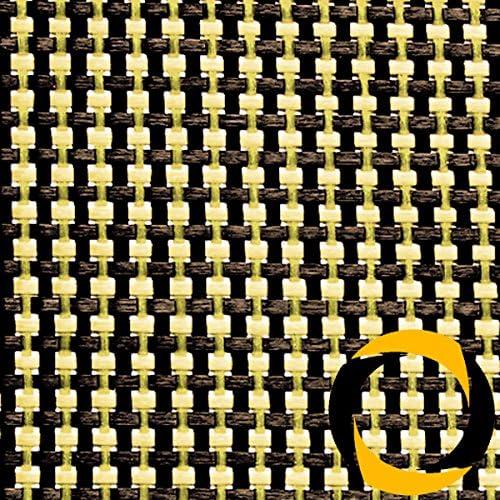 Ascending Composites Kohle- Aramidgewebe 68 g m2 (Leinwand) 100 cm, Rolle 10 m