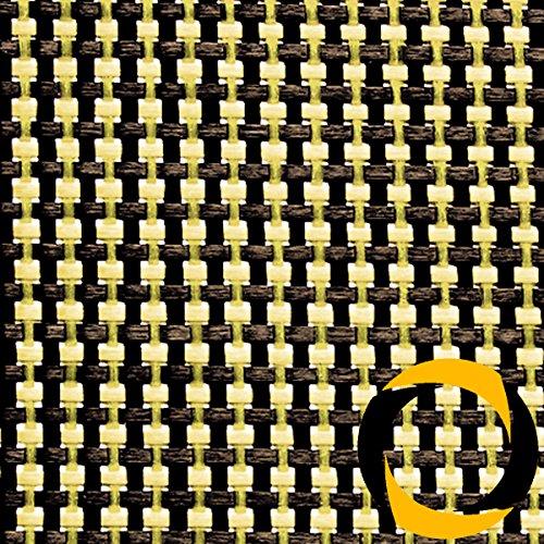 Ascending Composites Kohle-/Aramidgewebe 68 g/m² (Leinwand) 100 cm, Rolle 1 m