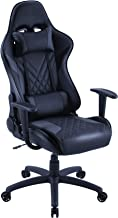 Eureka Ergonomic Video Gaming Chair Office Chair High Back Leather Chair Racing Executive Ergonomic Adjustable Swivel Chai...