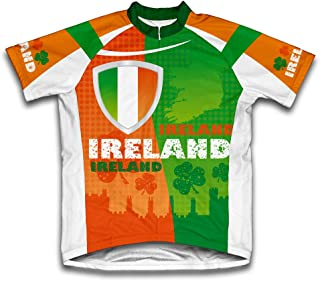 ScudoPro Ireland Short Sleeve Cycling Jersey for Men